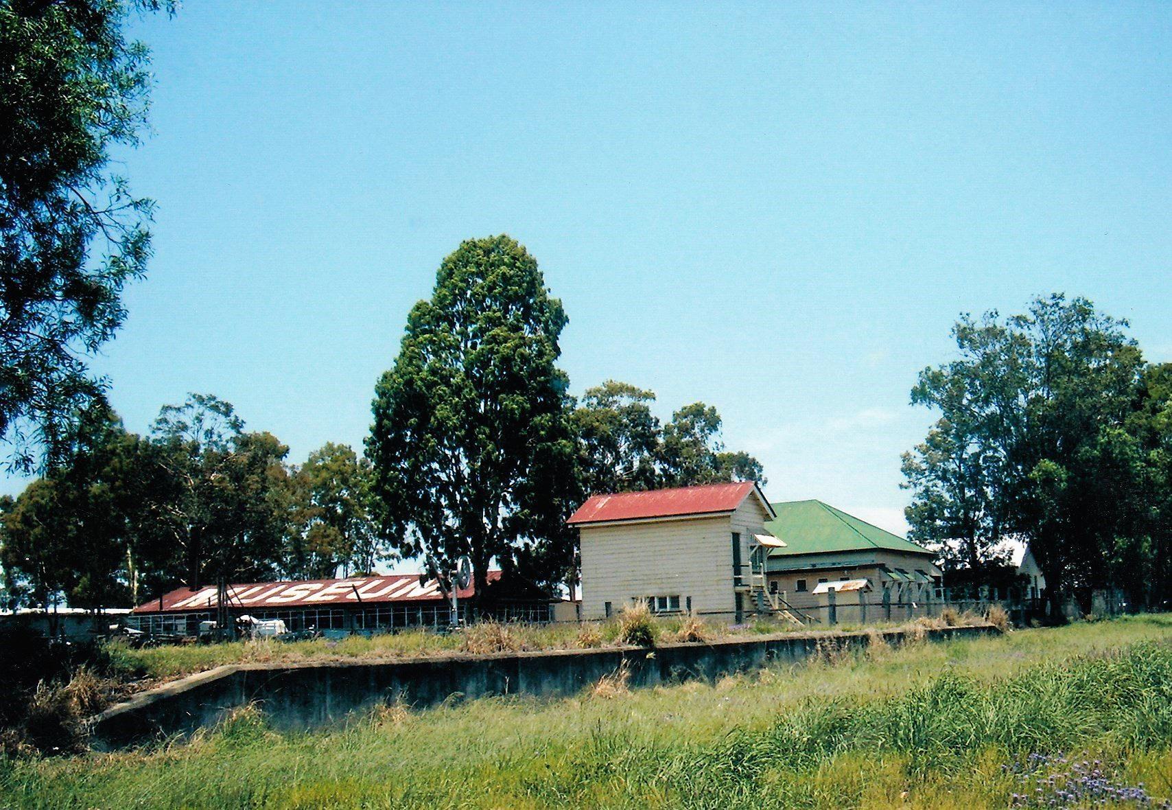 MEMORIES OF YESTERYEAR: The Chinchilla railway cattle ramp.