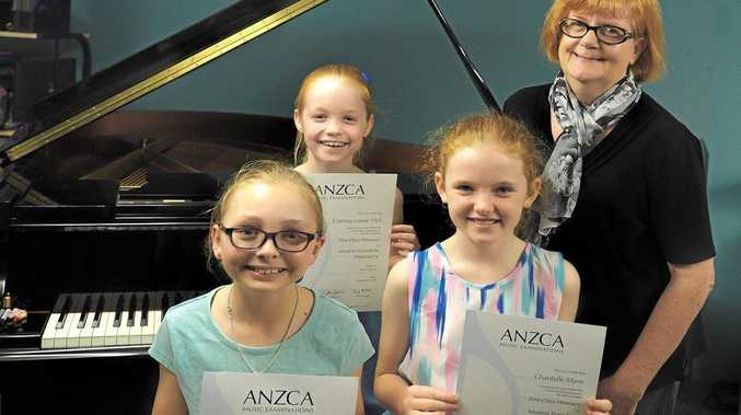 Young Rocky pianists awarded First Class Honours