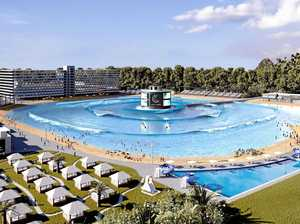 REVEALED: World-first wave pool edges closer to completion