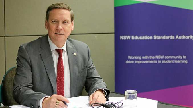 SEEKING INPUT: Professor Geoff Masters, chief executive officer and a member of the Board of the Australian Council for Educational Research, is leading the NSW curriculum review.