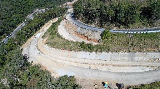 The Peak Downs Highway is expected to be temporarily closed in both directions today.