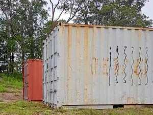 Storage container stolen from The Leap