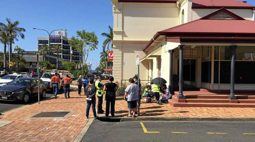 BREAKING: Pedestrian hit by car in Bundaberg CBD