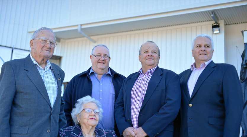 NOLAN FAMILY: Pat, Tony, Michael, Terry and Marie Nolan.