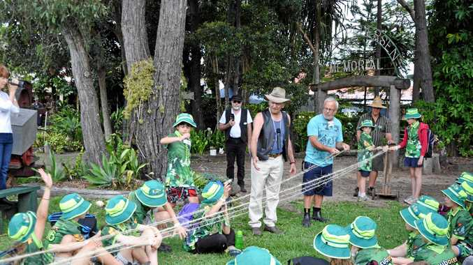 2000 Cub Scouts head to Bay for history lesson