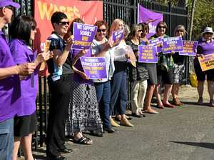 WORKERS STRIKE: Bundy staff call for pay rise