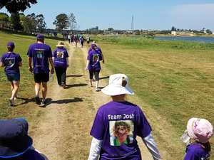Walk the walk for brain cancer this weekend
