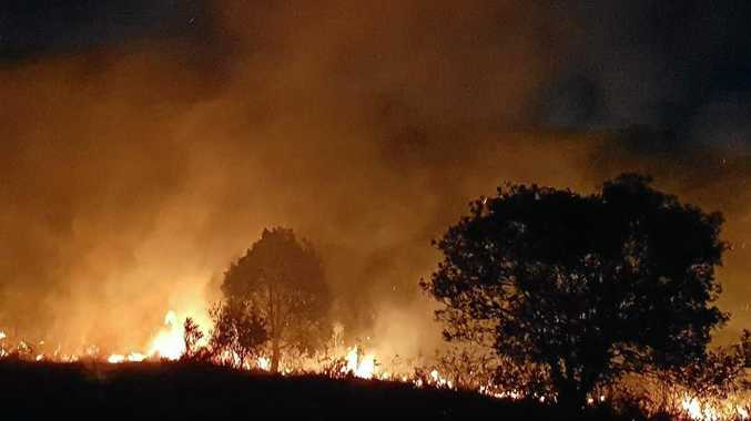 'Substantial fines apply': fire service warns landowners