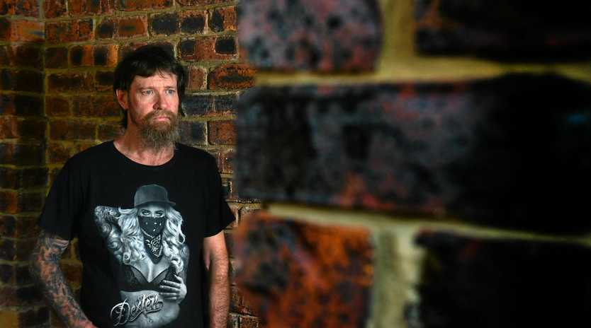 SPEAKING OUT: Graham Ryan has terminal cancer and chronic pain which he uses CBD oil to manage. He was approved for the treatment just days after he was charged with possessing dangerous drugs.