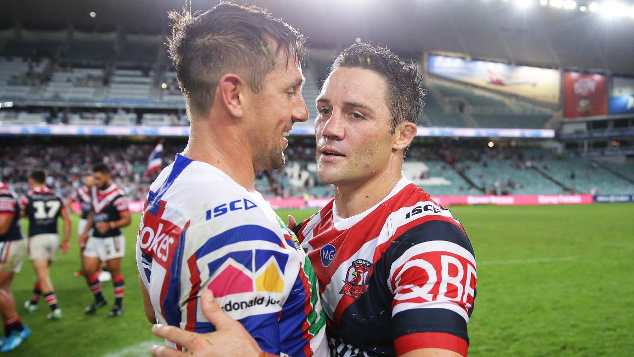 Cooper Cronk forced Mitchell Pearce out of the Roosters.
