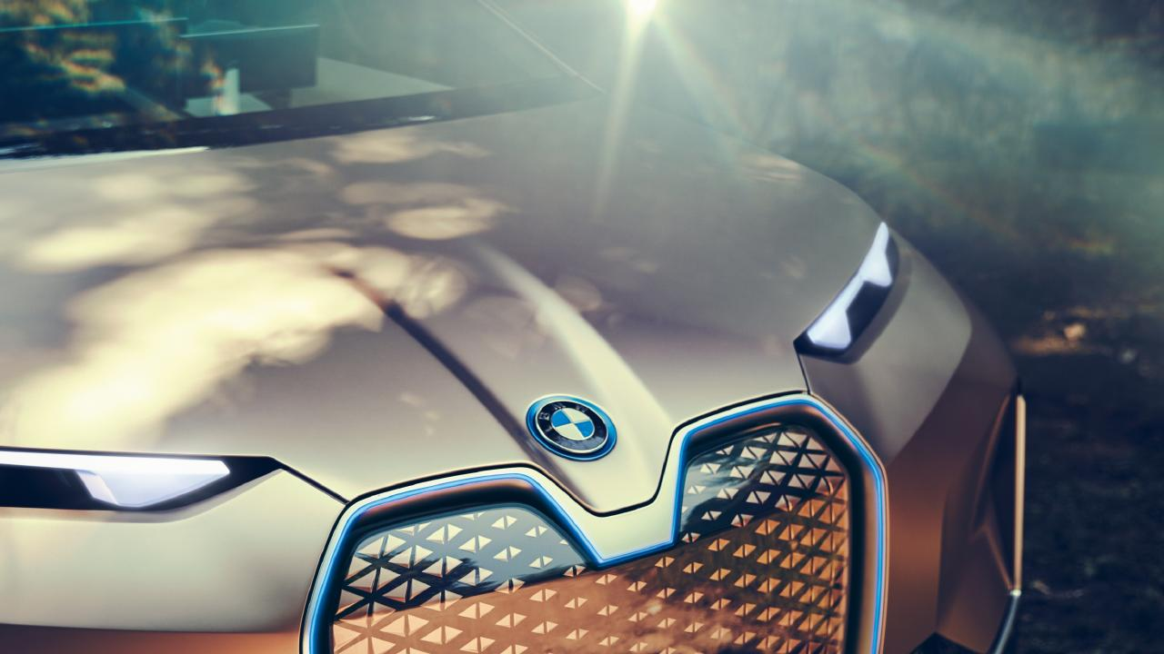 2018 BMW Vision iNext concept.