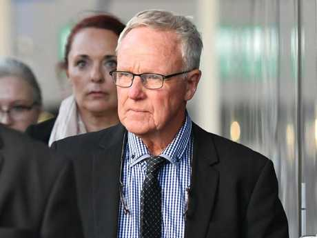 Graham Morant has pleaded not guilty to helping his wife take her own life. Picture: Dan Peled