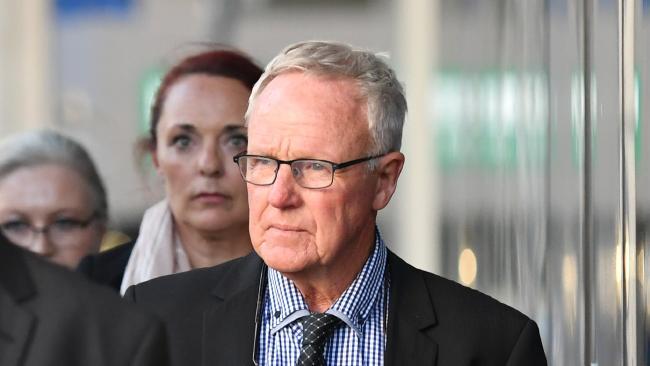 Graham Morant leaves the Supreme Court in Brisbane. Picture: Dan Peled