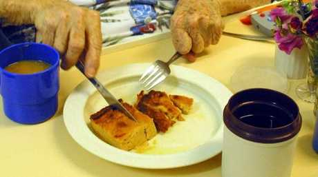 Families and aged care workers say they are concerned about a drop in quality of food in nursing homes.