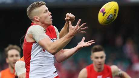 Dan Hannebery is likely to join the Satins? Picture: Phil Hillyard