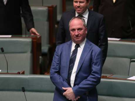 The sexual harassment complaint against Barnaby Joyce was found to be inconclusive. Picture: Kym Smith