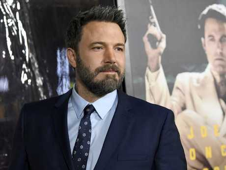 Ben Affleck has a history of substance abuse issues. Picture: Getty Images