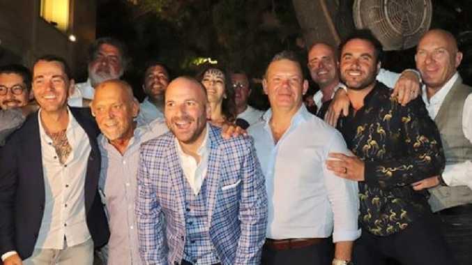 Masterchef judge's exotic Greek wedding