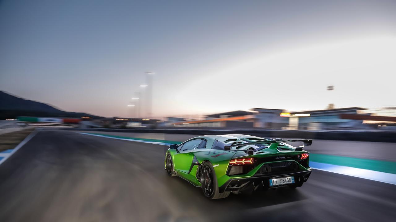 The Lamborghini Aventador SVJ is a violent machine.