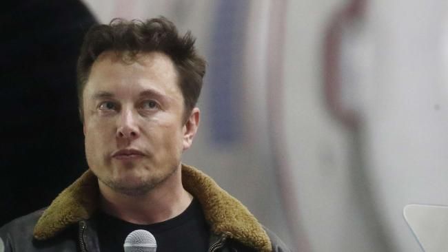 The Tesla chief has had a strange few days. Picture: Mario Tama/Getty Images