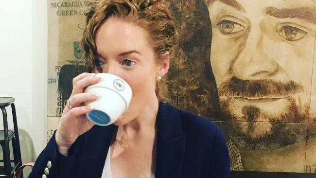 Kristen says the $16 coffee is worth trying, even if it's only once.