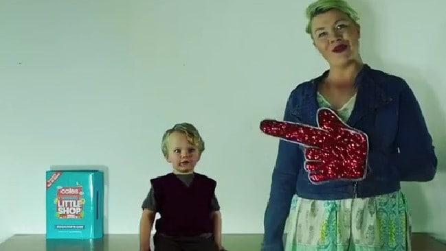 Tasmanian mum Amy Prior has won $10,000 worth of groceries.