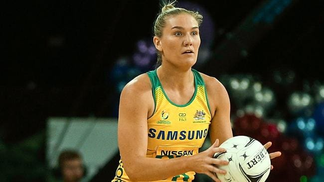 Courtney Bruce only made her debut for Australia in the 2017 Quad Series against England.