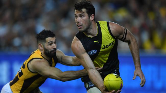 Alex Rance has enjoyed a great run with injuries. Picture: AAP Images