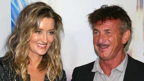 Natascha McElhone and Sean Penn star in new series The First. Photo: JB Lacroix/Getty Images