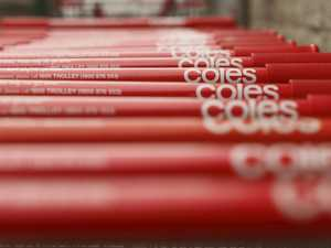 Outrage over Coles trolley ban