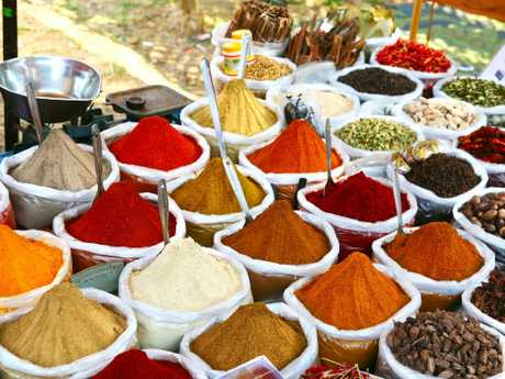 All the spices of the subcontinent. (File picture)