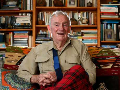 Former atheist Bill Hayden has had a religious experience. Picture: Adam Head