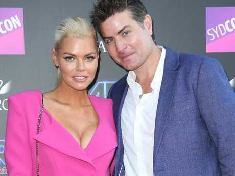 Sophie Monk and Stu Laundy following the finale of The Bachelorette.