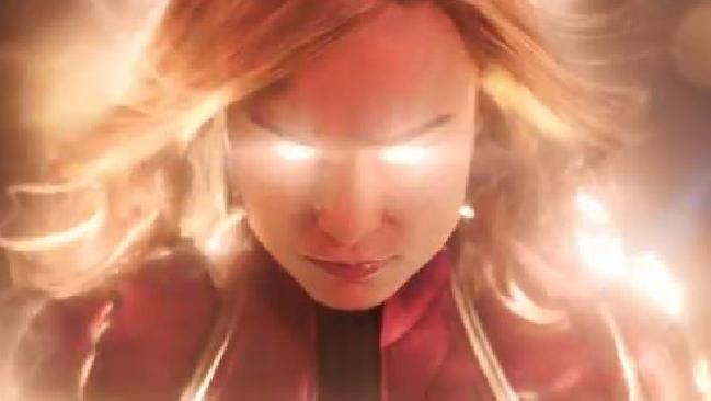 Brie Larson as Captain Marvel.  Picture:  Supplied
