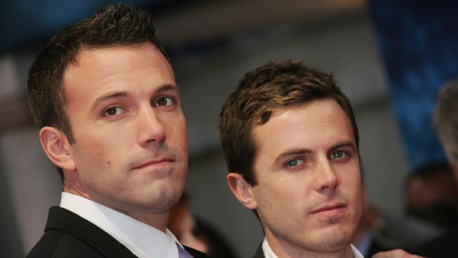 Casey Affleck has opened up about his brother's battle with alcoholism. Picture: Getty Images