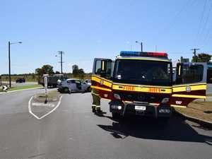 CRASH CHAOS: Driver allegedly tasered after fleeing scene