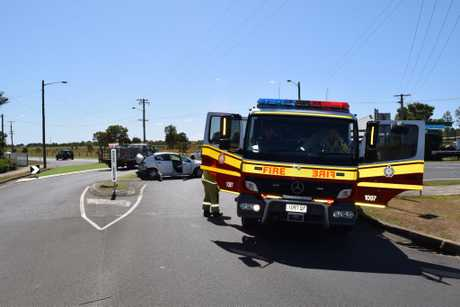 Crashes at the Saltwater Cr Rd and Pallas St intersections in Maryborough on Wednesday, September 19 around 10am.