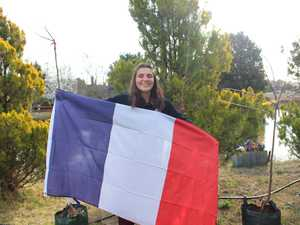 Rotary French Exchange student Marie Corna has