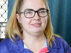 Ipswich High student Shania McNamara.