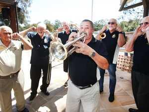 Members of the Australian Navy Veterans Band