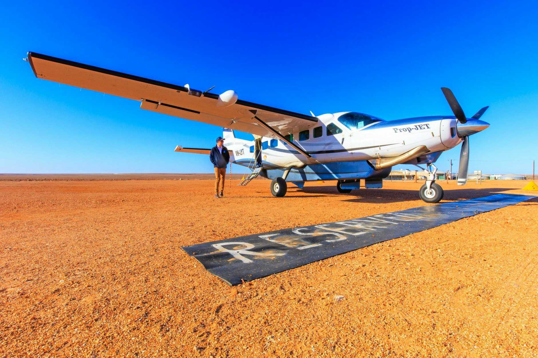 Jules Ingall images for use with her travel copy only (Gold Coast Eye and syndicated papers)Sea Air Aviation on the Gold Coast are offering outback tours in the comfort of a 14-seater Cessna Caravan airplane.