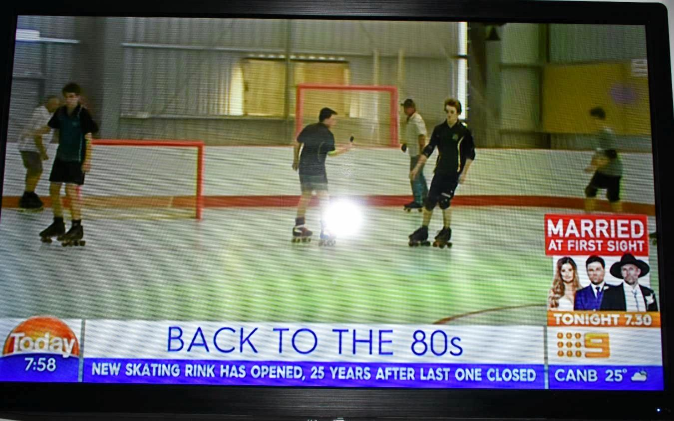 Gympie was featured on The Today Show on Tuesday morning as 'Australia's 80s revival town'.