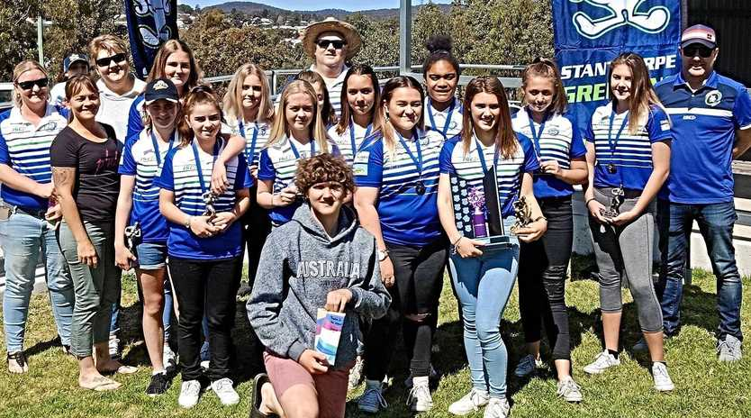 OUT IN STYLE: Stanthorpe Junior Rugby League wrapped their season with a presentation at Sullivan Oval.