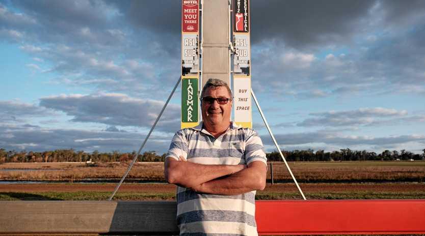 Chinchilla Race Club president Terry Stewart.