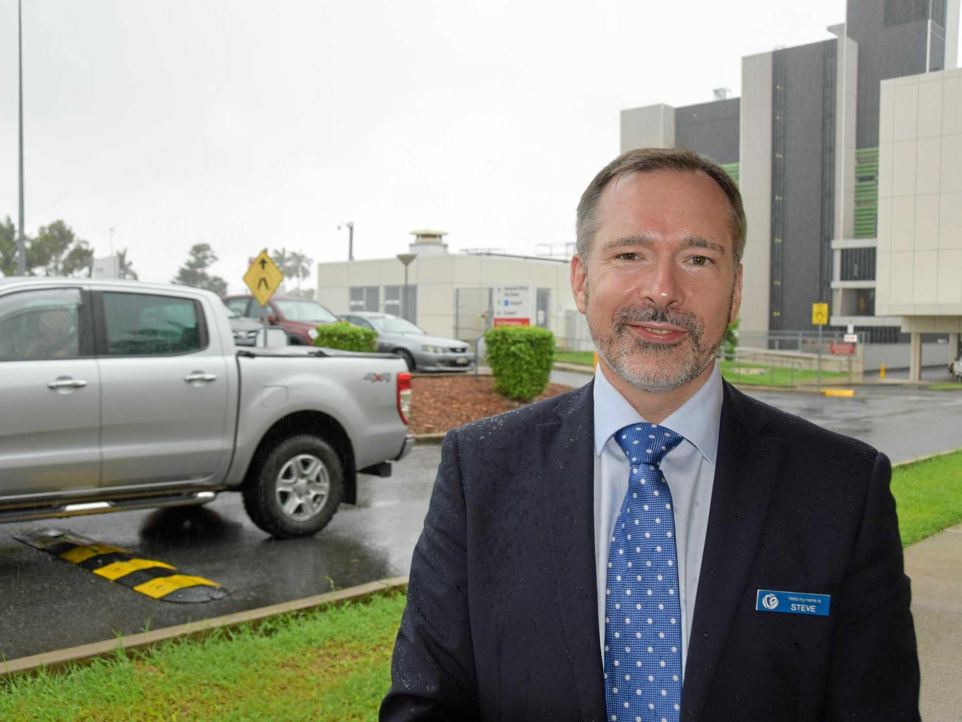 CQ Health Chief Executive Steve Williamson