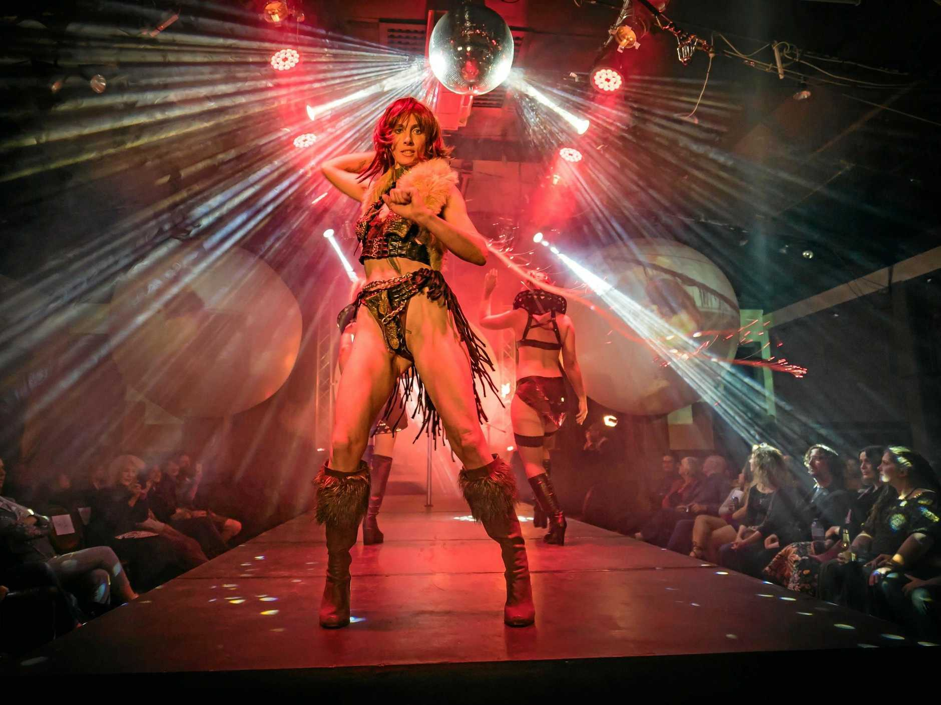 ADULTS ONLY: Cabaret, fashion and beauty mix in Nimbin's Fantasies Erotique Cabaret.