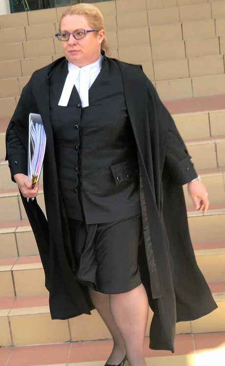 Crown Prosecutor Vicki Loury who is prosecuting the case of Daniel George Hong and Ian Robert Armstrong who is on trial this month for the murder of Chantal Barnett and Robert Martinez.