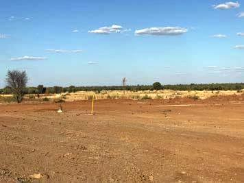 This supplied photo shows an example of site clearing at the Carmichael mine site. This permitted activity should have been included in Adani Australia's 2017/18 Annual Return for the Carmichael mine.
