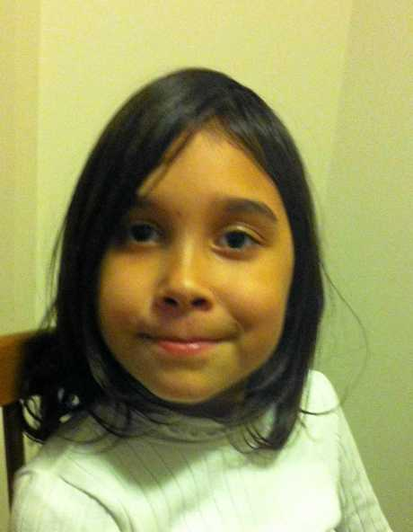 Abducted child Layla Leisha, taken in 2015.