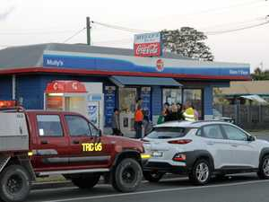 Man charged over alleged mini-mart armed robbery
